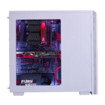 BitFenix NOVA - Midi Tower - PC - Plastic, Steel - White - ATX, Micro ATX, Mini-ITX - HDD, Power (BFX-NOV-100-WWWKK-RP)