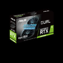 ASUS DUAL-RTX2060S-A8G-EVO-V2 - GeForce RTX 2060 SUPER - 8 GB - GDDR6 - 256 bit - 7680 x 4320 pixels - PCI Express x16 3.0 (90YV0DZ1-M0NA00)