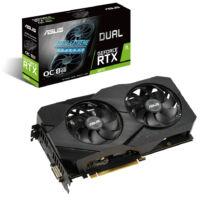 ASUS Dual DUAL-RTX2070-O8G-EVO-V2 - GeForce RTX 2070 - 8 GB - GDDR6 - 256 bit - 7680 x 4320 pixels - PCI Express x16 3.0 (90YV0E50-M0NA00)