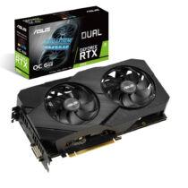 ASUS Videokártya PCI-Ex16x nVIDIA RTX 2060 6GB DDR6 OC (DUAL-RTX2060-O6G EVO)