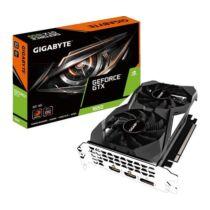 GIGABYTE Videokártya PCI-Ex16x nVIDIA GTX 1650 4GB DDR5 OC (GV-N1650WF2OC-4GD)