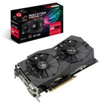 ASUS Videokártya PCI-Ex16x AMD RX 570 8GB DDR5 OC (ROG-STRIX-RX570-O8G-GAMING)