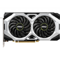 MSI GeForce GTX 1660 SUPER VENTUS OC - GeForce GTX 1660 SUPER - 6 GB - GDDR6 - 192 bit - 7680 x 4320 pixels - PCI Express x16 3.0 (V375-604R)