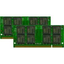 Mushkin 4GB PC2-6400 Kit - 4 GB - 2 x 2 GB - DDR2 - 800 MHz - 200-pin SO-DIMM (996577)