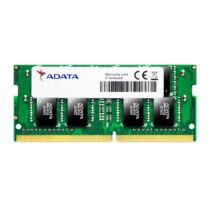 ADATA 8GB - DDR4 - 2400 MHz - 8 GB - 1 x 8 GB - DDR4 - 2400 MHz - 260-pin SO-DIMM (AD4S240038G17-R)