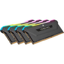 Corsair DDR4 32GB PC 3600 CL18 Kit 4x8GB Vengeance RGB retail - 32 GB - DDR4 (CMH32GX4M4D3600C18)