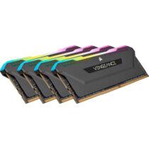 Corsair DDR4 32GB PC 3200 CL16 Kit 4x8GB Vengeance RGB retail - 32 GB - DDR4 (CMH32GX4M4E3200C16)