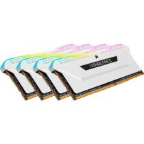Corsair DDR4 32GB PC 3200 CL16 Kit 4x8GB Vengeance RGB retail - 32 GB - DDR4 (CMH32GX4M4E3200C16W)