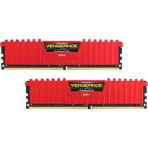 Corsair Vengeance 16GB DDR4 3000 MHz Kit - 16 GB - 2 x 8 GB - DDR4 - 3000 MHz - 288-pin DIMM - Red (CMK16GX4M2B3000C15R)