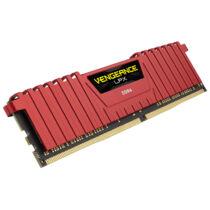 Corsair 32GB DDR4-2666 - 32 GB - 2 x 16 GB - DDR4 - 2666 MHz - 288-pin DIMM - Black, Red (CMK32GX4M2A2666C16R)