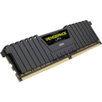 Corsair Vengeance LPX 4GB DDR4-2400 - 4 GB - 1 x 4 GB - DDR4 - 2400 MHz - 288-pin DIMM - Black (CMK4GX4M1A2400C16)