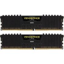 Corsair Vengeance LPX 8GB DDR4-2400 - 8 GB - 2 x 4 GB - DDR4 - 2400 MHz - 288-pin DIMM - Black (CMK8GX4M2A2400C16)