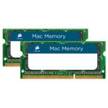 Corsair CMSA8GX3M2A1066C7 - 8 GB - 2 x 4 GB - DDR3 - 1066 MHz - 204-pin SO-DIMM - Green (CMSA8GX3M2A1066C7)