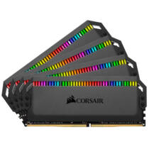 Corsair Dominator Platinum RGB - 32 GB - 4 x 8 GB - DDR4 - 3600 MHz - 288-pin DIMM (CMT32GX4M4C3600C18)
