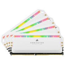 Corsair Dominator CMT32GX4M4Z3200C16W memóriamodul 32 GB 4 x 8 GB DDR4 3200 Mhz (CMT32GX4M4Z3200C16W)