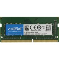 Crucial Notebook DDR4 2400MHz 8GB CL17 1,2V (CT8G4SFS824A)