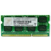 G.Skill 8GB PC3-10600 - 8 GB - 1 x 8 GB - DDR3 - 1333 MHz - 204-pin SO-DIMM (F3-10666CL9S-8GBSQ)