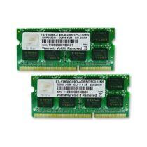 G.Skill 4GB DDR3-1600 SQ - 4 GB - 2 x 2 GB - DDR3 - 1600 MHz - 204-pin SO-DIMM (F3-12800CL9D-4GBSQ)