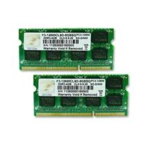 G.Skill 8GB DDR3-1600 SQ - 8 GB - 2 x 4 GB - DDR3 - 1600 MHz - 204-pin SO-DIMM (F3-12800CL9D-8GBSQ)