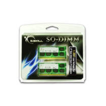 G.Skill 8GB DDR3-1600 - 8 GB - 2 x 4 GB - DDR3 - 1600 MHz - 204-pin SO-DIMM (F3-1600C9D-8GSL)