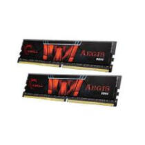 G.Skill 32GB DDR4-2400 - 32 GB - 2 x 16 GB - DDR4 - 2400 MHz - 288-pin DIMM - Black, Red (F4-2400C15D-32GIS)
