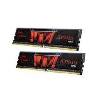 G.Skill 32GB DDR4-2400 - 32 GB - 2 x 16 GB - DDR4 - 2400 MHz - 288-pin DIMM - Black, Red (F4-2400C15D-32GIS)