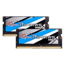 G.Skill Ripjaws - 32 GB - 2 x 16 GB - DDR4 - 2400 MHz - 260-pin SO-DIMM - Black, Blue, Gold, Grey, White (F4-2400C16D-32GRS)