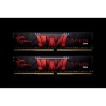 G.Skill Aegis F4-2400C17D-8GIS - 8 GB - 2 x 4 GB - DDR4 - 2400 MHz - 288-pin DIMM - Black, Red (F4-2400C17D-8GIS)