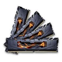 G.Skill 32GB DDR4-3000 - 32 GB - 4 x 8 GB - DDR4 - 3000 MHz - 288-pin DIMM - Black (F4-3000C15Q-32GRK)