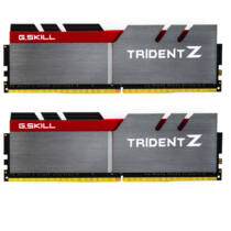 G.Skill 16GB DDR4 - 16 GB - 2 x 8 GB - DDR4 - 3200 MHz - Grey, Black, Red (F4-3200C16D-16GTZB)