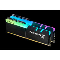 G.Skill Trident Z RGB F4-3200C16D-16GTZRX - 16 GB - 2 x 8 GB - DDR4 - 3200 MHz - 288-pin DIMM - Black (F4-3200C16D-16GTZRX)