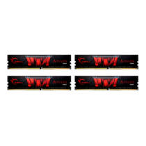 G.Skill Aegis F4-3200C16Q-32GIS - 32 GB - 4 x 8 GB - DDR4 - 3200 MHz - 288-pin DIMM (F4-3200C16Q-32GIS)
