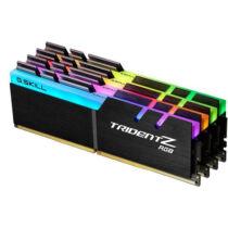 G.Skill Trident Z RGB F4-3200C16Q-64GTZR - 64 GB - 4 x 16 GB - DDR4 - 3200 MHz - 288-pin DIMM (F4-3200C16Q-64GTZR)