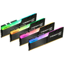 G.Skill Trident Z RGB F4-4000C17Q-32GTZR - 32 GB - 4 x 8 GB - DDR4 - 4000 MHz - 288-pin DIMM - Black (F4-4000C17Q-32GTZR)