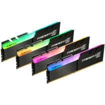 G.Skill Trident Z RGB F4-4266C17Q-32GTZR - 32 GB - 4 x 8 GB - DDR4 - 4266 MHz - 288-pin DIMM - Black (F4-4266C17Q-32GTZR)