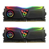 DDR4 16GB 4133MHz GeIL Super Luce Black RGB Sync CL16 KIT2 (GLS416GB4133C19DC)