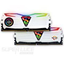 DDR4 8GB 2400MHz GeIL Super Luce White RGB Sync CL16 KIT2 (GLWS48GB2400C16DC)