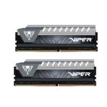 PATRIOT Memory Viper Elite Series 16GB DDR4 2666MHz Dual Kit - 16 GB - 2 x 8 GB - DDR4 - 2666 MHz - 288-pin DIMM - Black, Grey (PVE416G266C6KGY)