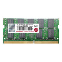 Transcend 8GB PC4-17000S ECC - 8 GB - 1 x 8 GB - DDR4 - 2133 MHz - 260-pin SO-DIMM (TS1GSH72V1H)