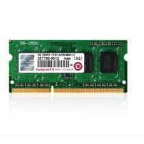 Transcend 4GB DDR3-1600 - 4 GB - 1 x 4 GB - DDR3 - 1600 MHz - 204-pin SO-DIMM (TS512MSK64W6H)