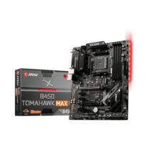 MSI B450 TOMAHAWK MAX II - AMD - Socket AM4 - AMD Ryzen 3 - AMD Ryzen 5 - AMD Ryzen 7 - 3rd Generation AMD Ryzen 9 - DDR4-SDRAM - DIMM - 1866, 2133, 2400, 2667, 2800, 2933, 3000, 3066, 3200, 3466, 4000, 4133 MHz (7C02-014R)