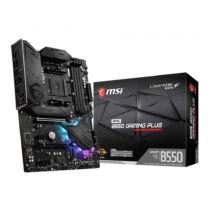 MSI MPG B550 Gaming Plus - AMD - Socket AM4 - AMD Ryzen - DDR4-SDRAM - DIMM - 1866, 2133, 2400, 2667, 2800, 2933, 3000, 3066, 3200, 3466, 3600, 3733, 3866, 4000, 4133, 4266, 4400 MHz (7C56-003R)