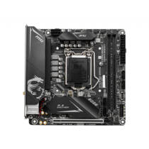 MSI MPG B460I GAMING EDGE WIFI - Intel - LGA 1200 - Intel® Celeron® - Intel® Core™ i3 - Intel Core i5 - Intel Core i7 - Intel Core i9 - Intel® Pentium® - DDR4-SDRAM - DIMM - 2666, 2933 MHz (7C86-002R)