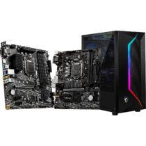 MSI B460M PRO - Intel - LGA 1200 - Intel® Celeron® - Intel® Core™ i3 - Intel Core i5 - Intel Core i7 - Intel Core i9 - Intel® Pentium® - DDR4-SDRAM - DIMM - 2666, 2933 MHz (7C88-001R)