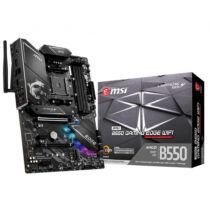 MSI MPG B550 Gaming Edge WiFi - AMD - Socket AM4 - AMD Ryzen - DDR4-SDRAM - DIMM - 1866, 2133, 2667, 2800, 2933, 3000, 3066, 3200, 3466, 3733, 3866, 4000, 4133, 4266, 4400, 4533, 4600, 4733, 4800, 4866,  (7C91-008R)