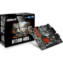 ASROCK H110M-HDV R3.0 (1151) (D) (90-MXB4W0-AOUAYZ)