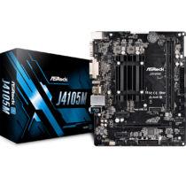 ASROCK J4105M (Intel CPU onboard) (D) (90-MXB6C0-A0UAYZ)