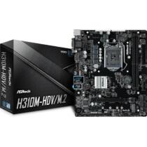 ASROCK H310M-HDV / M.2 (1151-v2) (D) (90-MXB720-A0UAYZ)