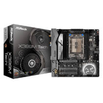 ASRock X399M Taichi - AMD - Socket TR4 - AMD Ryzen - DDR4-SDRAM - DIMM - 2133, 2400, 2667, 2933, 3200, 3600 MHz (90-MXB7B0-A0UAYZ)