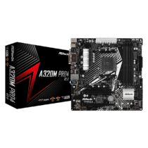 ASRock A320M Pro4 R2.0 - AMD - Socket AM4 - AMD A, AMD Ryzen - DDR4-SDRAM - DIMM - 2133, 2400, 2667, 2933, 3200 MHz (90-MXB9H0-A0UAYZ)